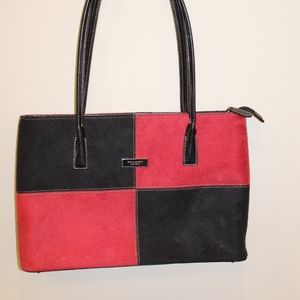 Black & Red Checkered Kate Spade Purse